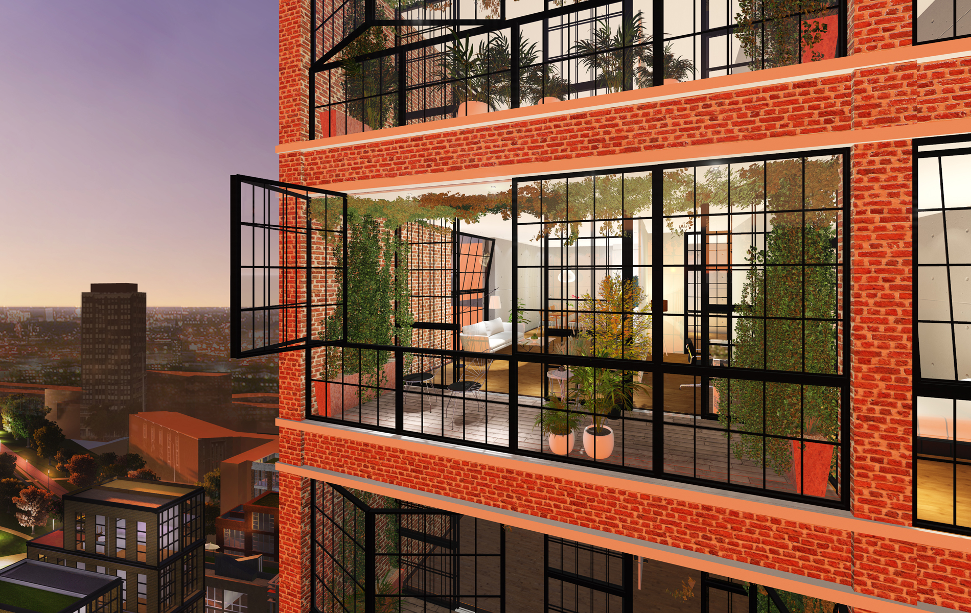 *720150419 PB Renders Apartment Green Outside 01